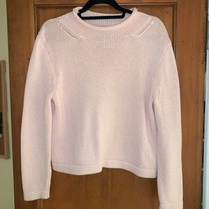 J Crew rolled neck cropped sweater